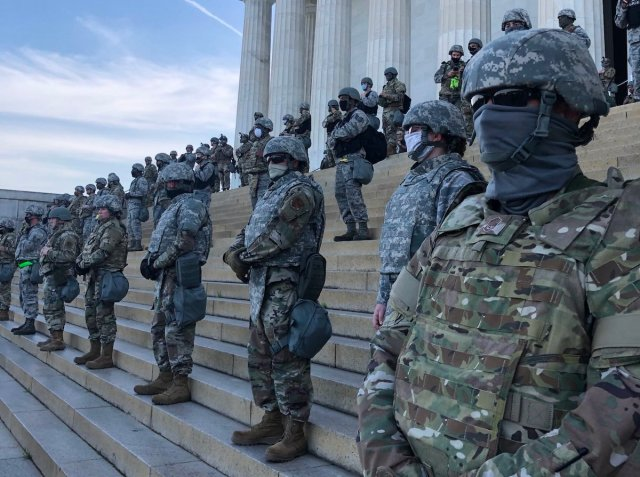 military in dc